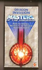 Dragon Invasion MASTERS Of the Universe VHS Video Good condition+
