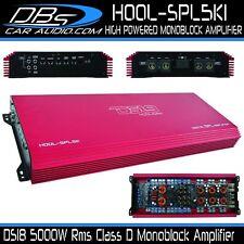 5000W RMS SPL Competition Class D Monoblock Amplifier DS18 HOOL-SPL5K1 Hooligan