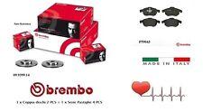Dischi 305 mm + Pastiglie Freno Anteriori Brembo Fiat Croma 194 1.9 Multijet