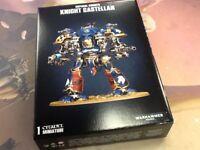 40K Warhammer Imperial Knights Knight Castellan NIB