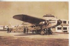 DC11. Nostalgia Postcard.British Airway plane leaving Gatwick May 1935.