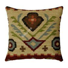 Black Friday Kilim Rustic Throw Vintage Cushion Cover Handmade Boho Pillow Case