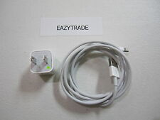 ORIGINAL APPLE IPHONE 5/5S/6/6 PLUS CHARGER + 6FT (2m) LIGHTNING CABLE