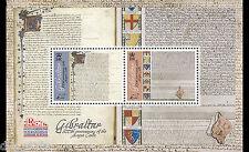 Magna Carta 800th anniversaire souvenir FEUILLE MNH Gibraltar 2015