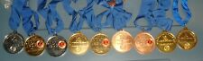205 East German Germany Sport medal lot Dealers lot G,S,B grades different years