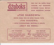 THE SHADOWS-RUNNING OUT OF WORLD-RARE ORIGINAL YUGOSLAV FLEXI 33rpm 1967