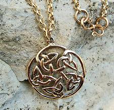 wunderschön Arwen Kette L:67 keltik Blume Erbskette S-Haken Bronze Mittelalter