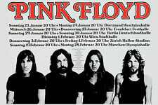 Pink Floyd at  West Germany Concert Tour Poster 1977