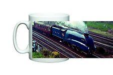 TRENO a vapore anatra selvatica LNER Class 4 loco 4468 su una tazza di Natale Regalo Di Compleanno