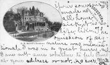 Little Falls New York Burrells Residence Historic Bldg Antique Postcard K61704