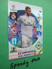 Champions League 2015 UPDATE Game Changer Benzema  Panini Adrenalyn 15