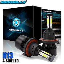 H13 9008 1700W 255000LM 4-side LED Headlight Bulb Dual Hi-Lo Beam Conversion Kit