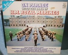ON PARADE WITH THE BAND OF HM ROYAL MARINES 1959 MFP 1015 MUSIC FOR PLEASURE LP