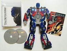Transformers 2-DVD Special Edition w/ Transforming Optimus Prime & comic - (eb3)