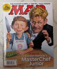 MAD Magazine MASTER CHEF JUNIOR December 2015 + 2016 STAR WARS Calendar NFL Hulk