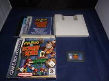 GBA Mario vs Donkey - Per Console Nintendo Game Boy Advance - PAL ITA