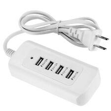 4-Port Multi USB Charger Desktop Charging Station 5V 6A Power Supply Adapter