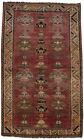 Rare Distressed Semi Antique Tribal 5X8 Oriental Wool Area Rug Home Decor Carpet