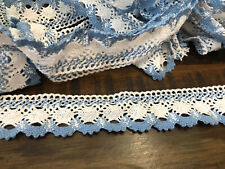 Wright Products Fan Cluny Lace 7//8 Wide 12 Yards-White