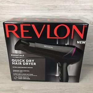 Revlon 2100W Quick Dry Hair Dryer Ultra Lightweight Design RRP £34.99 Free P&P