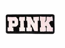 "Victoria's Secret PINK Black & Pink Rug Rectangle Bath Mat 13"" x 31"" New RARE!"
