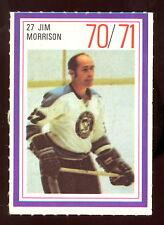 1970-71 ESSO POWER PLAYERS NHL #27 JIM MORRISON NM PENGUINS UNUSED STAMP