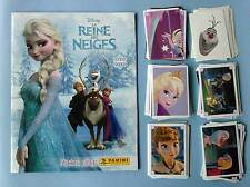 Reine des Neiges Disney Album vide neuf + Set quasi complet à coller Panini 2014