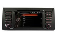 """Autoradio Car DVD GPS Sat Nav 7"""" RDS Bluetooth For BMW 5Series E39 E53 X5 M5"""