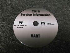 2016 Dodge Dart Service Repair Manual CD SE SXT GT Sport Aero Limited 2.0L 2.4L