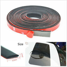 3 Meters Black Car Front Rear Windshield Sealing Strip Sunroof Noiseproof Rubber