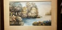 1941 M. Lewis signed painting