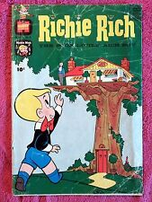 Richie Rich Harvey Silver Age Cartoon Character Comics