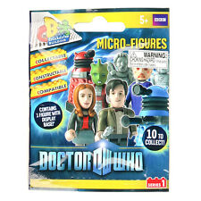 DOCTOR WHO Micro Figures BLIND BAG Series 1 Character Building Set BBC Dr Who