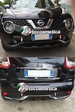 for Nissan Juke 14-19 Chrome Bumper Trims Front+Rear New Genuine KE600BV009CR