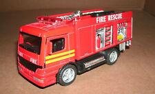 1/50 Scale Rescue Fire Engine Emergency Truck Diecast Model Unit - Kinsfun 5110D