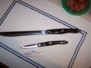 2 CUTCO KNIVES 1720KJ & 1723JC