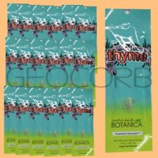 20 SWEDISH BEAUTY FREE THYME INTENSIFIER HYPOALLERGENIC  PACKET LOTION SAMPLE