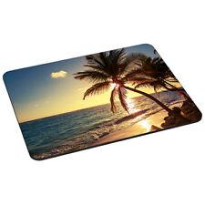 Mauspad Gaming Mousepad rutschfest Maus Pad mit Design, Strand Beach Palme Meer