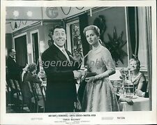1958 French Comedian Fernandel in Paris Holiday Original News Service Photo