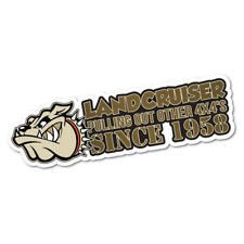 Land Cruiser Pulling Out All 4X4 Sticker Decal 4x4 4WD Funny Ute