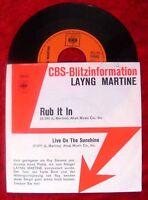 Single Layng Martine Rub It In CBS Blitzinfo 1971
