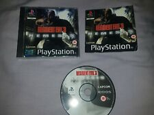 RESIDENT EVIL 3 NEMESIS PLAYSTATION PS 1/2/3 BOXED COMPLETE free p&p