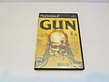 Gun (Sony PlayStation 2, 2005) ps2 game used
