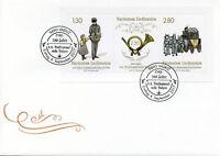 Liechtenstein 2017 FDC Briefsammelstelle Balzers 3v M/S Cover Postal Serv Stamps