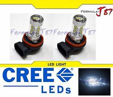 CREE LED 80W H11 White 5000K Two Bulbs Head Light Low Beam Replacement Off Road
