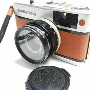 Olympus Trip 35 , 35 RC Filter Adapter System 43.5mm step up to 46mm UV filter a