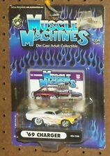"""2002 Muscle Machines """" '69 Charger"""" Limited Edition  MOC"""