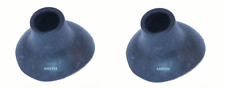 PAIR OF  MORRIS MINOR 2DR SALOON REAR BUMPER FERRULE  AAA575--PAN109