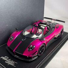 1/18 Peako Model Pagani Zonda Cinque Roadster Flash Pink #81801 serial #1 / 100