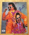JIMMY HART Signed Autograph 8x10 Photo WWE AWA WWF WCW TNA ROH With PSA/DNA COA